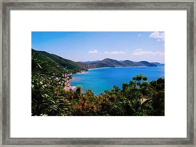 Tortola Bay Framed Print by Kara  Stewart
