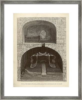 Torture Chambers Framed Print by Middle Temple Library