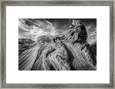 Tortured Earth #2 Framed Print by Joseph Rossbach