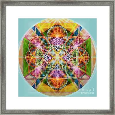 Torusphere Synthesis Bright Beginning Soulin I Framed Print