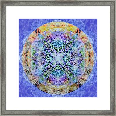 Torusphere Synthesis Interdimensioning Soulin Iv Framed Print