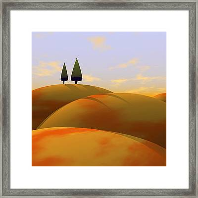 Toscana 1 Framed Print by Cynthia Decker