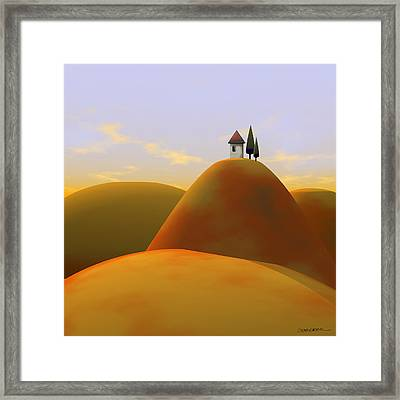 Toscana 2 Framed Print by Cynthia Decker