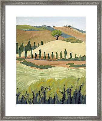 Toscana Framed Print by Mary Giacomini