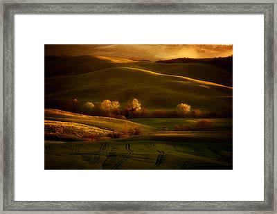 Toskany Impression Framed Print