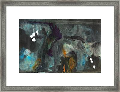 Total Eclipse Of The Moon Framed Print by Aggie Damron