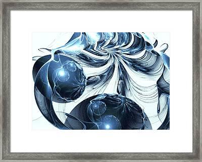 Total Internal Reflection Framed Print by Anastasiya Malakhova