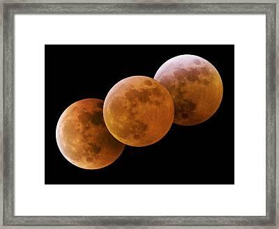 Total Lunar Eclipse Framed Print by Juan Carlos Casado (starryearth.com)