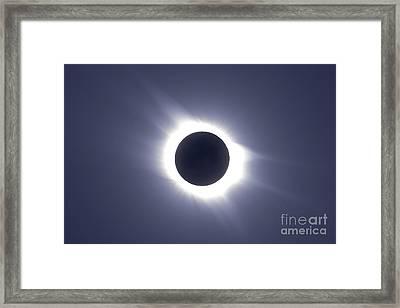Total Solar Eclipse Framed Print by Alan Dyer