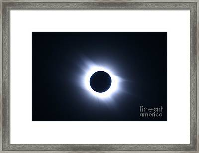 Total Solar Eclipse Framed Print by Stephen & Donna O'Meara