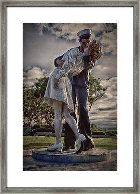 Framed Print featuring the photograph Total  Surrender ... by Chuck Caramella
