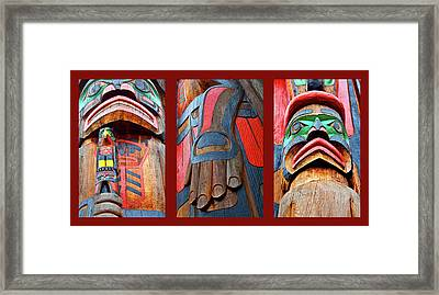 Totem 3 Framed Print