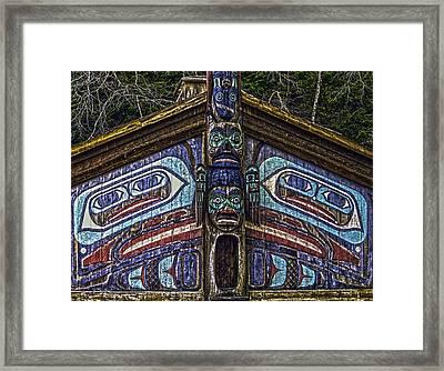Totem Bite State Park 01 Framed Print