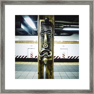 Totem Phone Framed Print by Natasha Marco