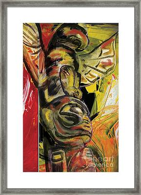 Totem Pole 1 Framed Print