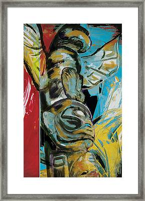 Totem Pole 2 Framed Print by Corporate Art Task Force