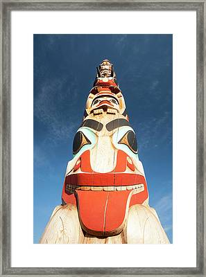 Totem Pole Framed Print by Ashley Cooper