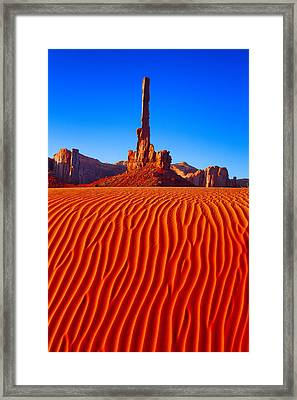 Totem Pole II Framed Print by Giovanni Allievi
