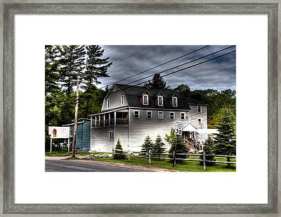 Tote's Tea House Framed Print