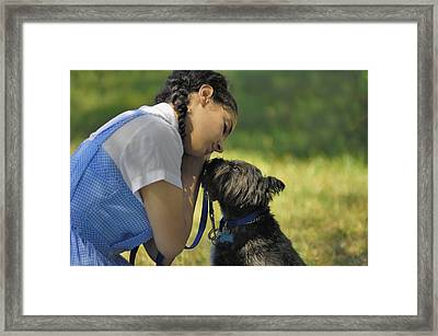 Toto This Isn't Kansas Anymore Framed Print