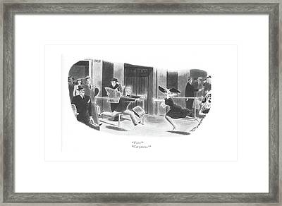 Toto! Gargantua! Framed Print