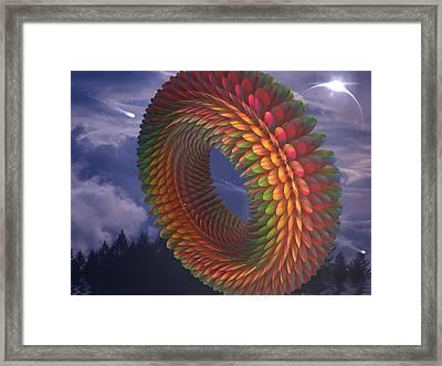 Totorical Blades Framed Print by Ricky Jarnagin