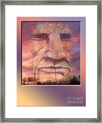 Totum Sunrise Framed Print