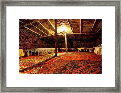 Touareg Tent Framed Print