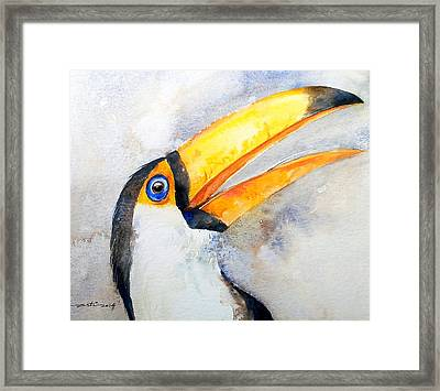 Toucan  Framed Print by Arti Chauhan