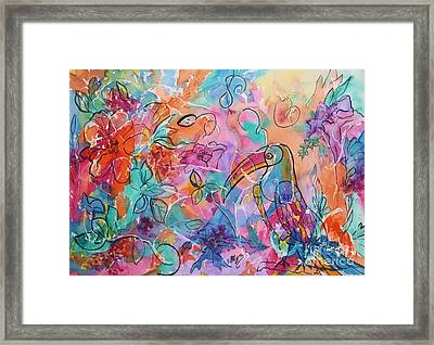 Toucan Dreams Framed Print