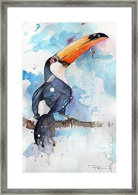 Toucan Sam Framed Print