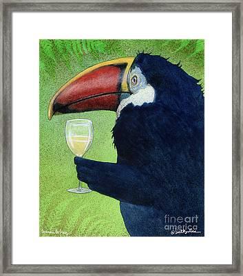 Toucan Tokay... Framed Print