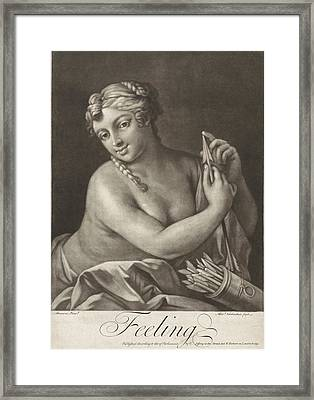 Touch, Alexander Van Haecken, T. Jefferys Framed Print by Alexander Van Haecken And T. Jefferys And W. Herbert