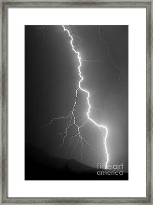 Framed Print featuring the photograph Touch And Go by J L Woody Wooden