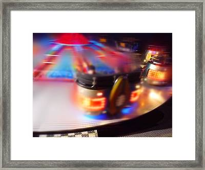 Touch Down Framed Print by Charles Stuart