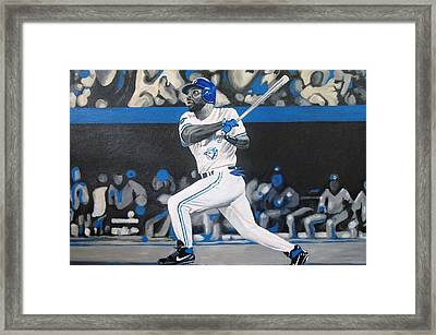 Touch Em All Joe Framed Print by Paul Smutylo