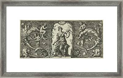 Touch, Francis Cleyn, Anonymous, Robert Walton Framed Print