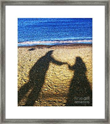 Touch Framed Print by Jo Collins