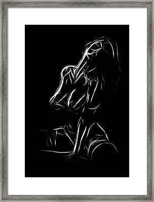 Touch Me Framed Print by Steve K