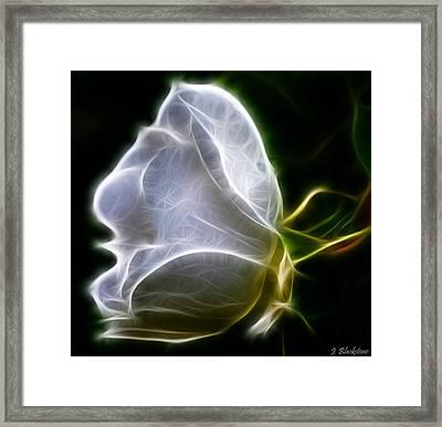 Touch My Heart Framed Print by Jordan Blackstone