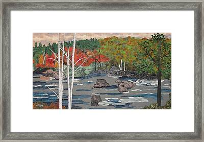 Touch Of Autumn Framed Print by Anita Jacques