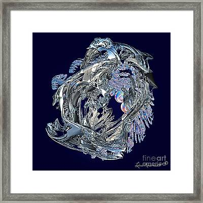 Touch Of Chrome Framed Print