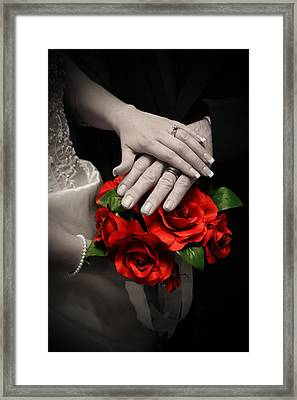 Touch Of Color Framed Print