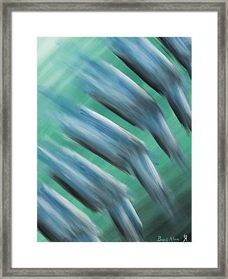 Touch Of Cool Framed Print by Brent Buss