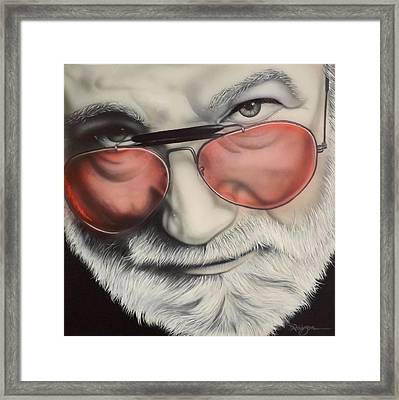 Touch Of Grey Framed Print by Darren Robinson
