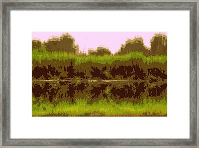 Touch Of Pink Ashley Framed Print