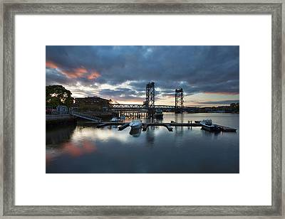 Touch Of Red Framed Print by Eric Gendron