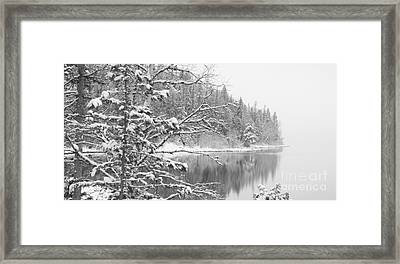 Touch Of Winter Framed Print