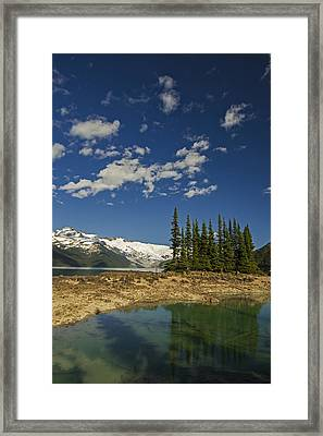 Touch The Sky Framed Print by Aaron Bedell
