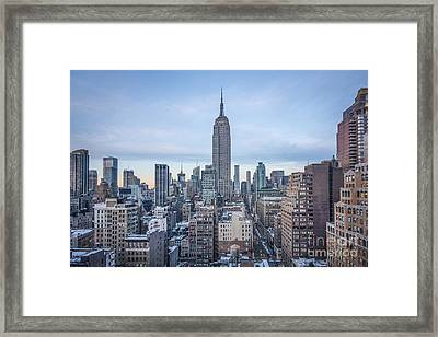 Touch The Sky Framed Print by Evelina Kremsdorf